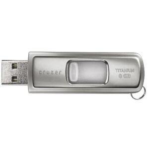 Photo of Sandisk 8GB Ultra Cruzer Titanium ReadyBoost USB Memory Storage