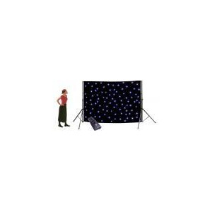 Photo of NJD LED Starcloth With Dimmer 3 X 2M (Stands Not Included) Lighting