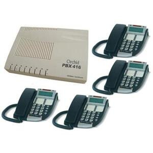 Photo of Orchid PABX 416 Phone System With DX800 Phones Landline Phone