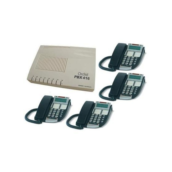 Orchid PABX 416 Phone System With DX800 Phones