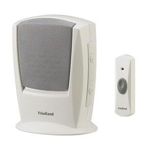 Photo of Friedland EVO Wireless Door Bell Chime Kit Home Miscellaneou