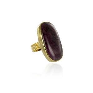 Photo of Ruby Cabochon Ring Jewellery Woman