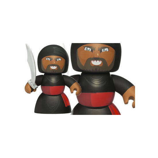 Indiana Jones Mighty Muggs - Cairo Swordsman