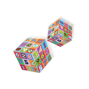 Photo of Sudoku 3D Coloured Puzzle Cube Gadget