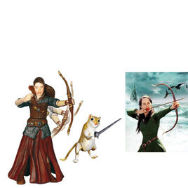 Narnia Prince Caspian 10cm figure - Susan & Reepicheep Reviews