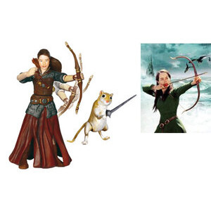 Photo of Narnia Prince Caspian 10CM Figure - Susan & Reepicheep Toy
