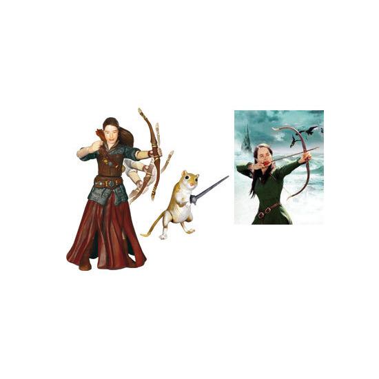 Narnia Prince Caspian 10cm figure - Susan & Reepicheep