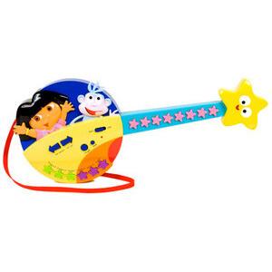 Photo of Dora Push Button Guitar Toy