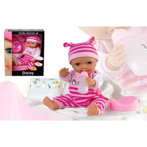 Photo of Dolls World - Baby Daisy 38CM Drink and Wet Toy