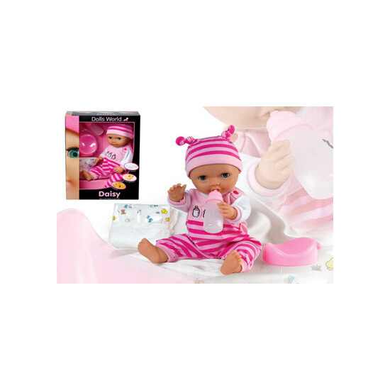Dolls World - Baby Daisy 38cm Drink and Wet