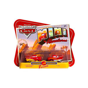 Photo of Disney Pixar Cars Mini Adventures - Lightning Ramone & Flo Toy