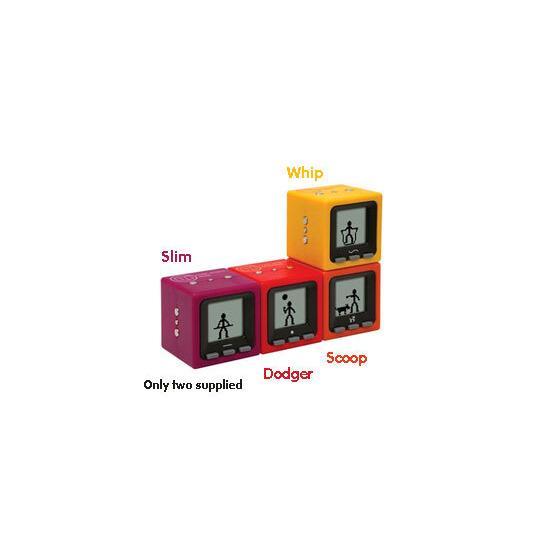 Cube World Series 1 - Purple and Orange