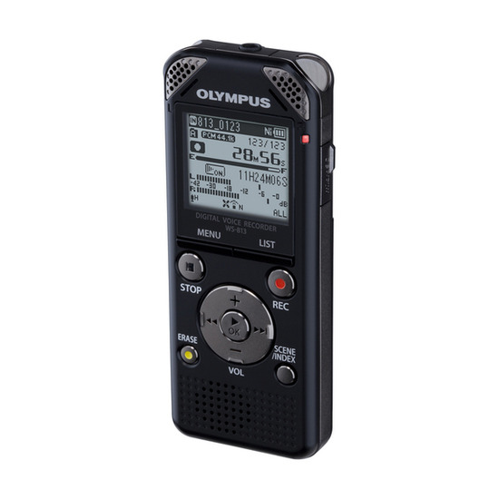 Olympus WS-813 Digital Voice Recorder - Black
