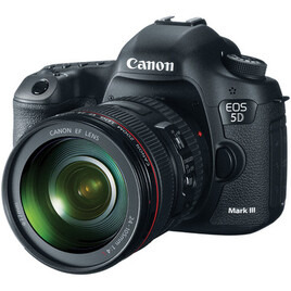 Canon EOS 5D Mark III With 24-105mm Lens Reviews