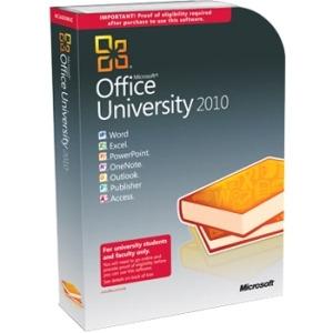 Photo of Microsoft Office University 2010 (PC) Software