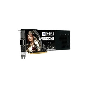 Photo of MSI N9800GX2-M2D1G Graphics Card