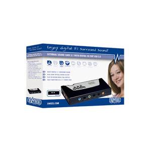 Photo of Sweex External 5.1 Sound Card Sound Card