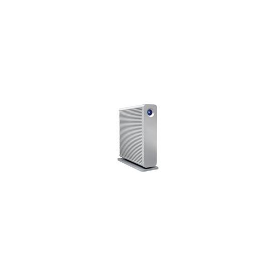 LaCie d2 Quadra Hard Disk - Hard drive - 750 GB - external - FireWire / FireWire 800 / Hi-Speed USB / eSATA-300 - 7200 rpm - buffer: 16 MB