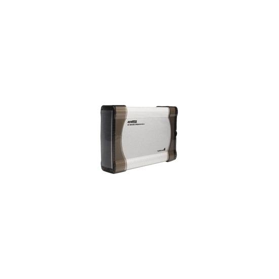 "StarTech.com InfoSafe 5.25"" eSATA/USB 2.0 SATA Optical Drive Enclosure - Storage enclosure - SATA-300 - 300 MBps - Hi-Speed USB / eSATA-300 - silver"