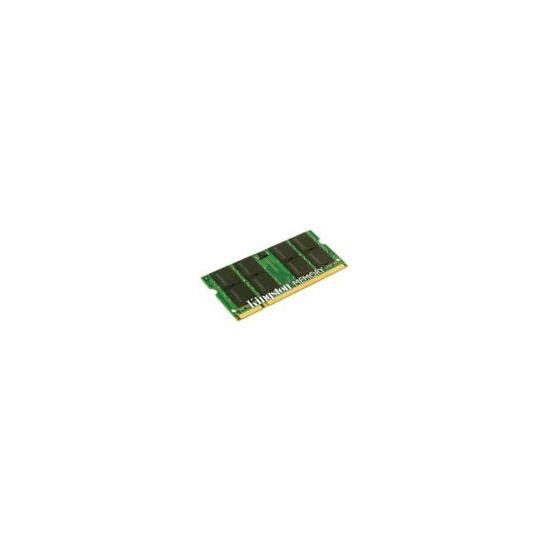 Kingston - Memory - 1 GB - SO DIMM 200-pin - DDR2 - 800 MHz - unbuffered