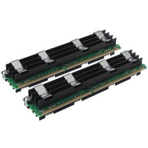 Photo of Crucial - Memory - 4 GB ( 2 X 2 GB ) - FB-DIMM 240-Pin - DDR2 - 800 MHZ / PC2-6400 - CL5 - Fully Buffered - ECC Computer Component