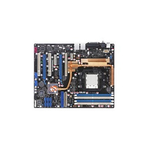 Photo of ASUS CROSSHAIR Republic Of Gamers Series - Motherboard - ATX - NFORCE 590 SLI - Socket AM2 - UDMA133, Serial ATA-300 (RAID), ESATA - 2 X Gigabit Ethernet - FireWire - 8-Channel Audio Motherboard