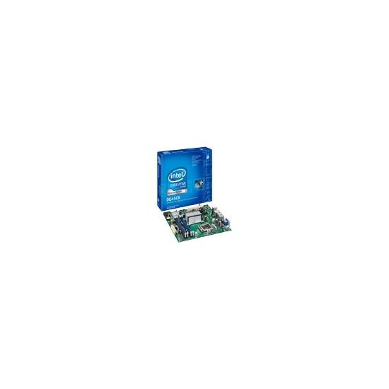Intel Desktop Board DQ45CB - Motherboard - micro ATX - iQ45 - LGA775 Socket - Serial ATA-300 (RAID) - Gigabit Ethernet - FireWire - video - High Definition Audio (6-channel)