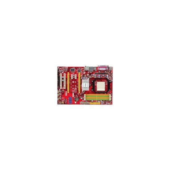 MSI K9N SLI-F V2 - Motherboard - ATX - nForce 570 LT SLI - Socket AM2 - UDMA133, Serial ATA-300 (RAID) - Gigabit Ethernet - High Definition Audio (8-channel)