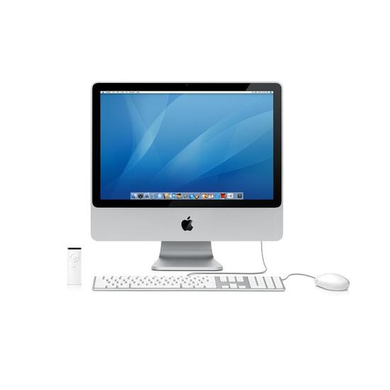 "Apple iMac 20"" 2.4GHZ with 1GB memory & Windows XP Pro"