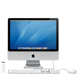 "Apple iMac 20"" 2.4GHz 1GB 250GB Mac OS X 10.5 Reviews"