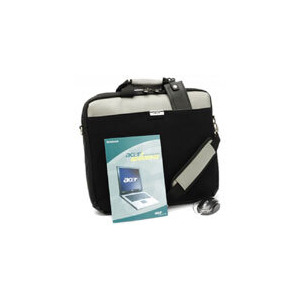 "Photo of Acer Advantage Silver With 17"" Slip Case and Travel Mouse Laptop Accessory"
