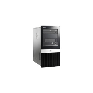 Photo of HP Compaq Business Desktop DX2400 - Micro Tower - 1 X Pentium Dual Core E2180 - RAM 1 GB - HDD 1 X 250 GB - DVD±RW (±R DL) / DVD-RAM - GMA 3100 - Gigabit Ethernet - Vista Business / XP Pro Downgrade - Monitor : None Desktop Computer