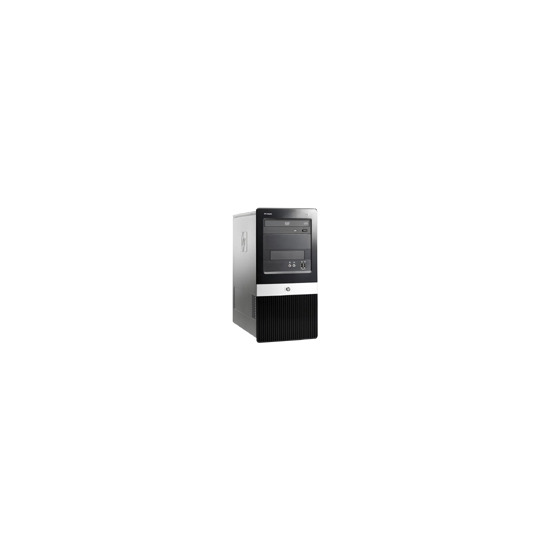 HP Compaq Business Desktop dx2400 - Micro tower - 1 x Pentium Dual Core E2180 - RAM 1 GB - HDD 1 x 250 GB - DVD±RW (±R DL) / DVD-RAM - GMA 3100 - Gigabit Ethernet - Vista Business / XP Pro downgrade - Monitor : none