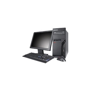 Photo of Lenovo ThinkCentre M57 9978 - Tower - 1 X Core 2 Quad Q9300 / 2.5 GHZ - RAM 2 GB - HDD 1 X 500 GB - DVD-Writer - GMA 3100 Dynamic Video Memory Technology 4.0 - Gigabit Ethernet - Vista Business / XP Pro Downgrade - Monitor : None - TopSeller Desktop Computer
