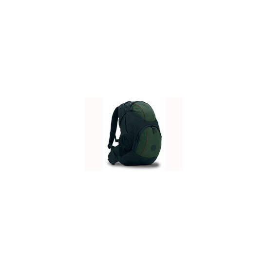 Pakuma Akara K3 Black & Green with Brown Piping BackPack