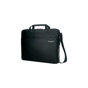 "Photo of Samsonite Aramon Laptop Shuttle S - Notebook Carrying Case - 13.3"" - Black Laptop Bag"