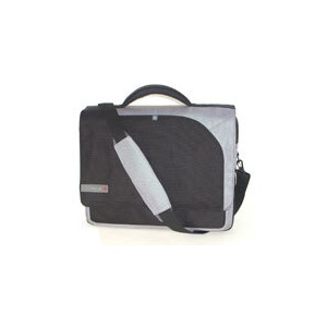 """Photo of Tech Air Series 2 2106 - Notebook Carrying Case - 15.4"""" - Grey, Black Laptop Bag"""