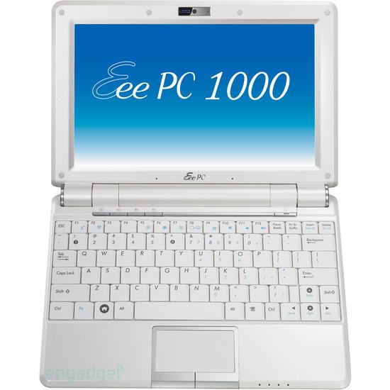 Asus Eee PC 1000H 160GB Linux