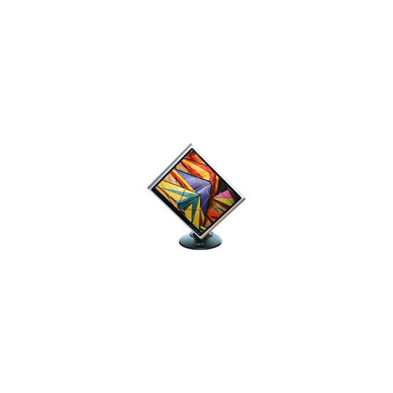 "GNR TG704HD - Flat panel display - TFT - 17"" - 1280 x 1024 / 75 Hz - 300 cd/m2 - 700:1 - 5 ms - 0.264 mm - DVI-D, VGA - speakers - black silver"