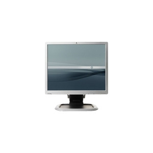 "Photo of HP L1950G - Flat Panel Display - TFT - 19"" - 1280 X 1024 / 75 HZ - 300 CD/M2 - 800:1 - 5 ms - 0.294 mm - DVI-D, VGA - Silver, Carbonite Black Monitor"