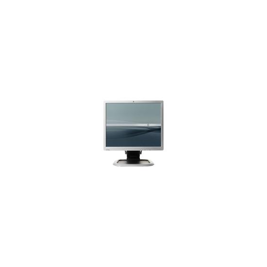 "HP L1950g - Flat panel display - TFT - 19"" - 1280 x 1024 / 75 Hz - 300 cd/m2 - 800:1 - 5 ms - 0.294 mm - DVI-D, VGA - silver, carbonite black"