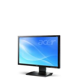 """Acer V243Wb - Flat panel display - TFT - 24"""" - widescreen - 1920 x 1200 / 75 Hz - 400 cd/m2 - 3000:1 (dynamic) - 5 ms - 0.27 mm - VGA - black Reviews"""