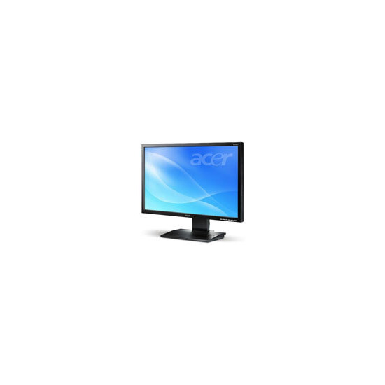 """Acer V243Wb - Flat panel display - TFT - 24"""" - widescreen - 1920 x 1200 / 75 Hz - 400 cd/m2 - 3000:1 (dynamic) - 5 ms - 0.27 mm - VGA - black"""