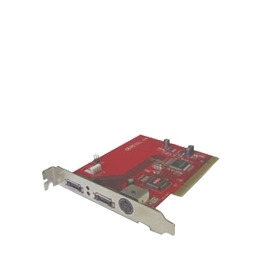 MRi eSATA-II-2CR - Storage controller (RAID) - 2 Channel - SATA-300 - 300 MBps - RAID 0, 1, 0+1 - PCI Reviews