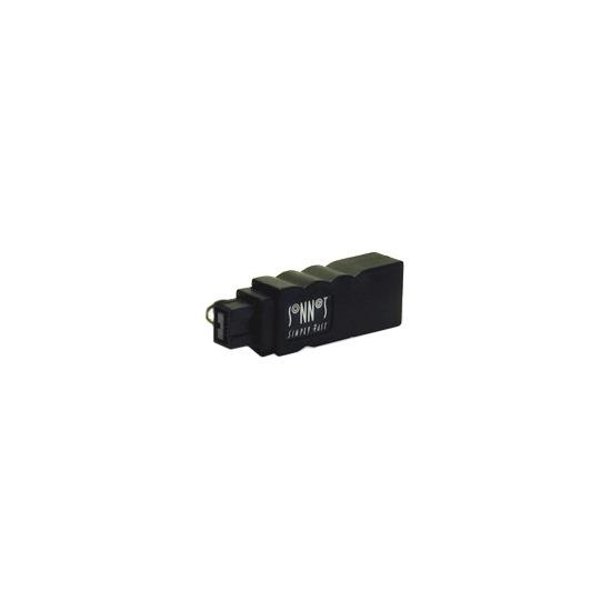 Sonnet - IEEE 1394 adapter - 9 pin FireWire 800 (M) - 6 PIN FireWire (M) ( IEEE 1394 )