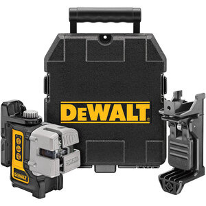 Photo of Dewalt DW089K 3 WAY SELF-LEVELLING MULTI LINE LASER (HORIZONTAL, VERTICAL and SIDE LINES) Power Tool