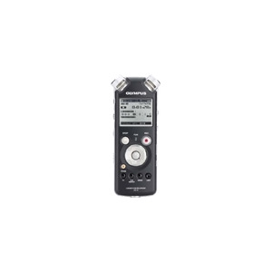Photo of Olympus LS-10 Linear PCM Recorder - Digital Voice Recorder - Flash 2 GB - WMA, MP3 Dictation Machine