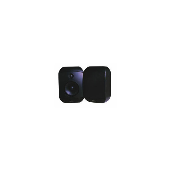 Vision SP-1300 Pair Wall Speakers Black