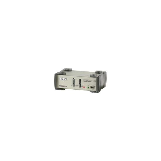 ATEN MasterView CS1732B KVMP Switch - KVM / audio / USB switch - 2 ports - 1 local user
