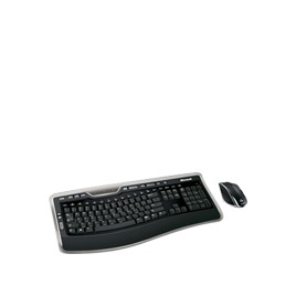 Microsoft Wireless Laser Desktop 7000 - Keyboard - wireless - USB - 105 keys - ergonomic - mouse - USB wireless receiver - English - United Kingdom Reviews